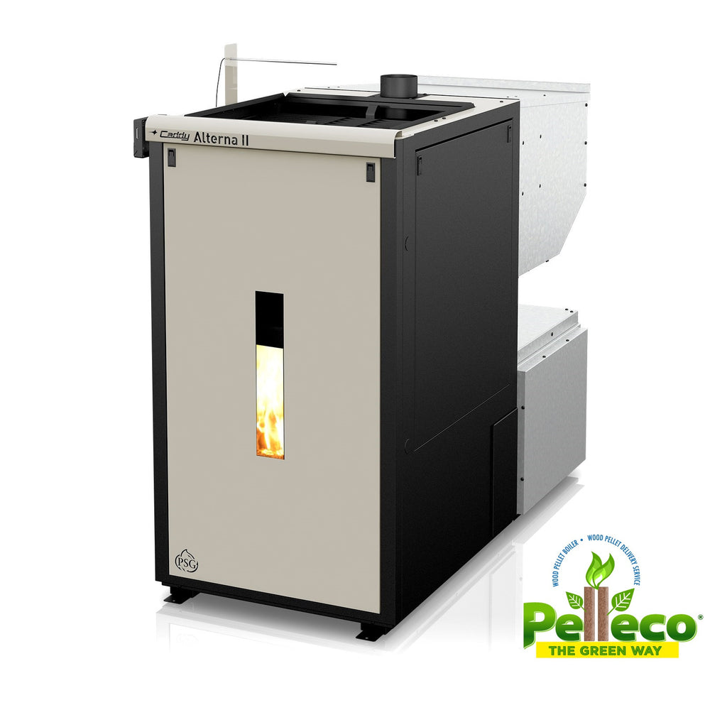 Caddy Alterna ii Wood Pellet Boiler Hot Air Heating