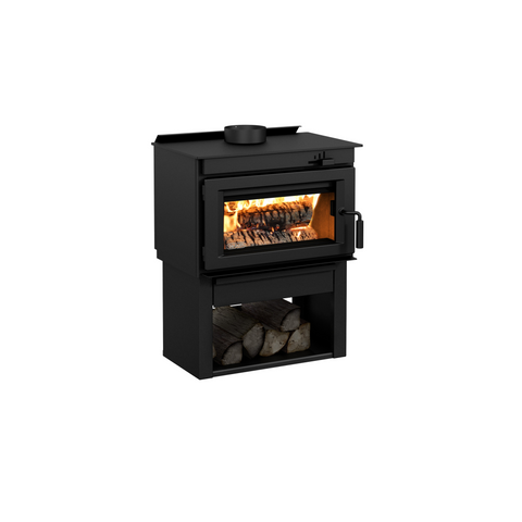 produces top quality small and large woodburning