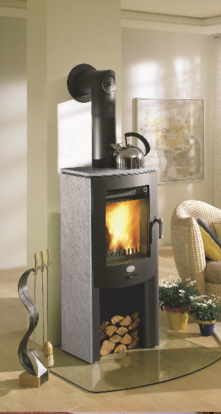 Frisco Wood Pellet Combo Stove Stand Alone