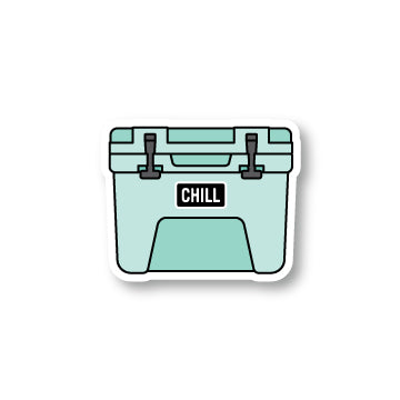 Chill Cooler Sticker