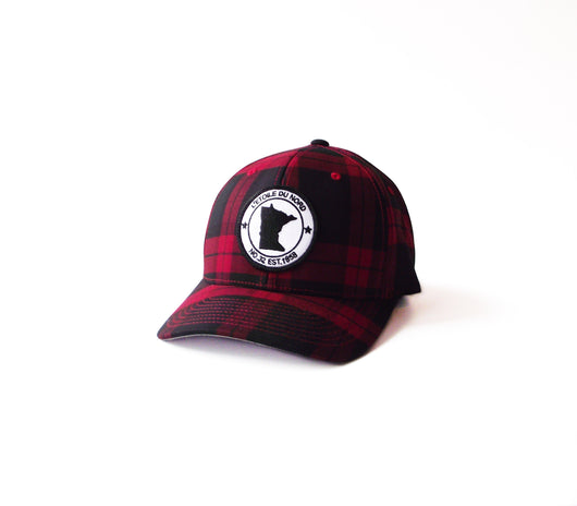 Minnesota Plaid Hat