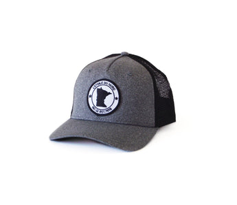 North Star State Snapback - Black