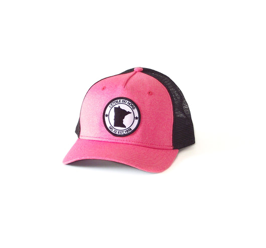 North Star State Snapback - Hot Coral