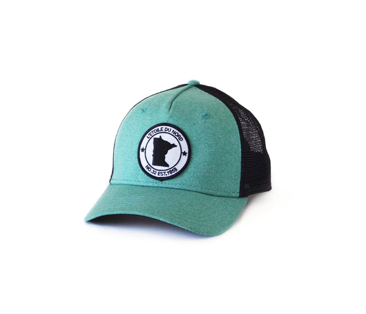 North Star State Snapback - Seafoam