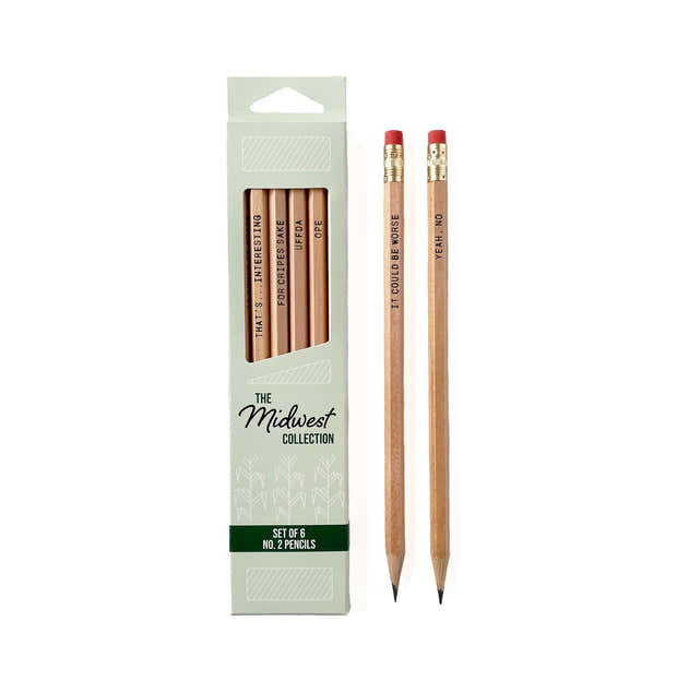 The Midwest Collection Pencil Set 1
