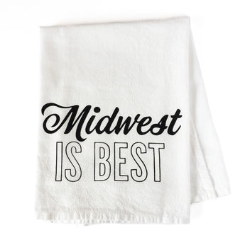 Midwest Is Best Kitchen Towel
