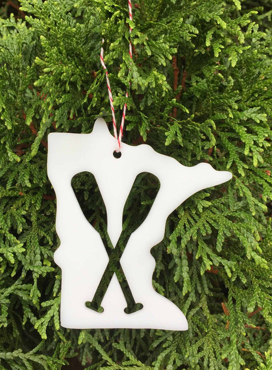 Minnesota Paddle Ornament