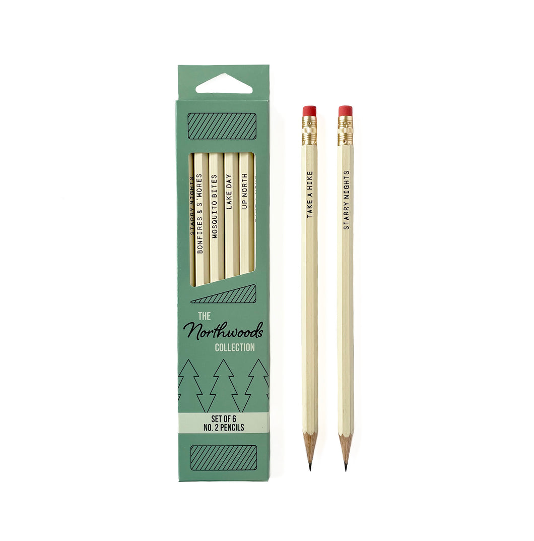 The Northwoods Collection Pencil Set