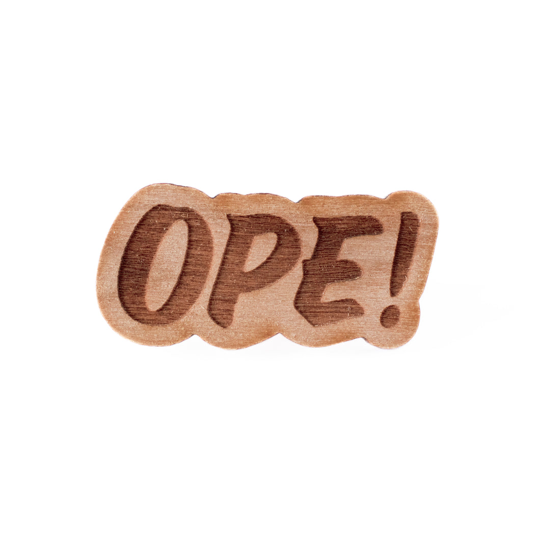 Ope Wood Pin