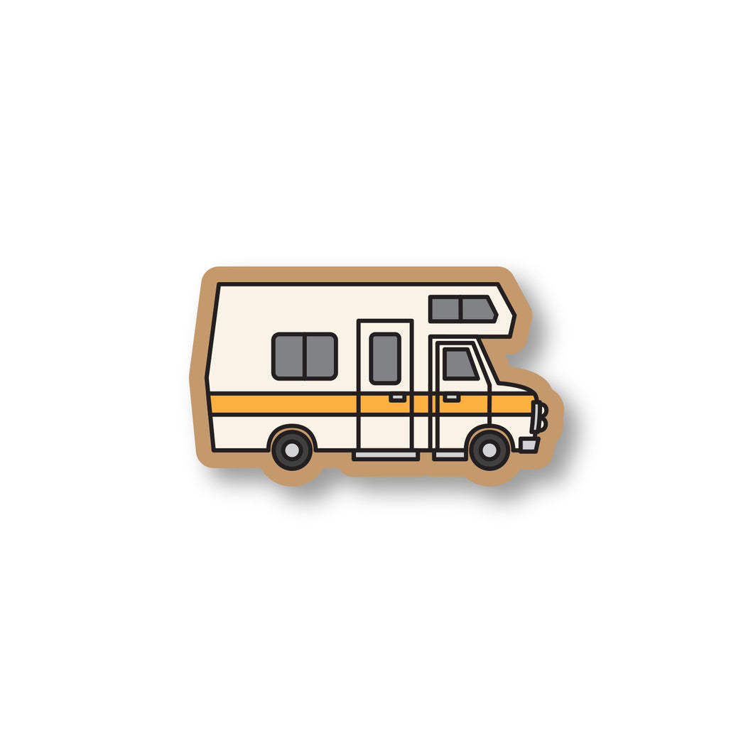 Retro RV Sticker