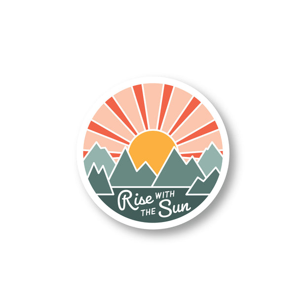 Rise With The Sun Sticker 1
