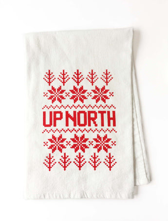 Up North Fair Isle Tea Towel