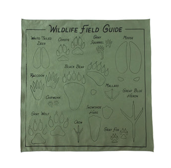 Wildlife Field Guide Bandana