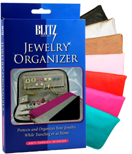 Anti-Tarnish Travel Jewelry Organizers - The Travel Must-Have!