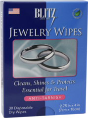 Blitz® Jewelry Wipes Make Jewelry Cleaning Easy While On The Go