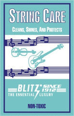 The Blitz String Care Cloth De-Constructed