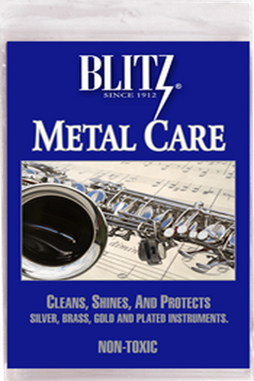 Metal Care Cloth for Musical Instruments