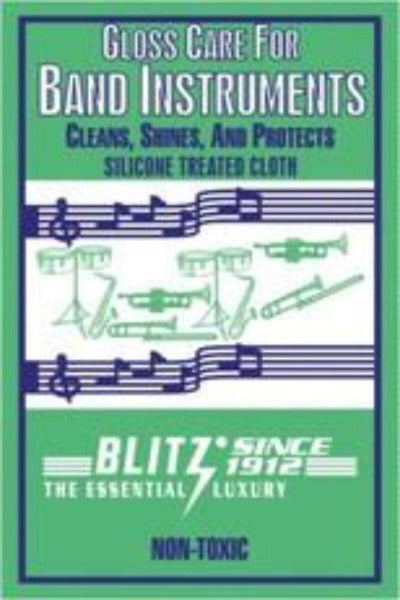 Gloss Care Cloth for Band Instruments