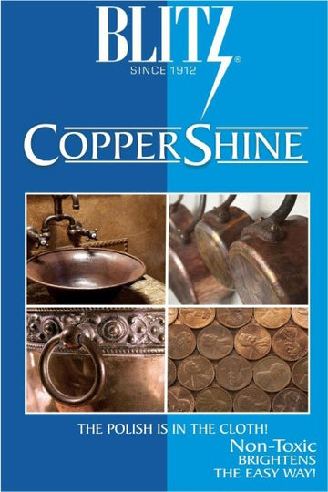 Copper Shine Polishing Cloth