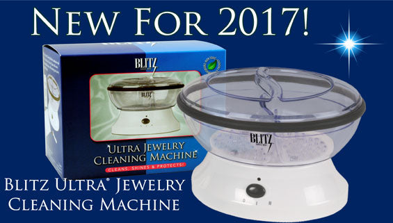 New For 2017, Blitz Ultra Jewelry Cleaning Machine