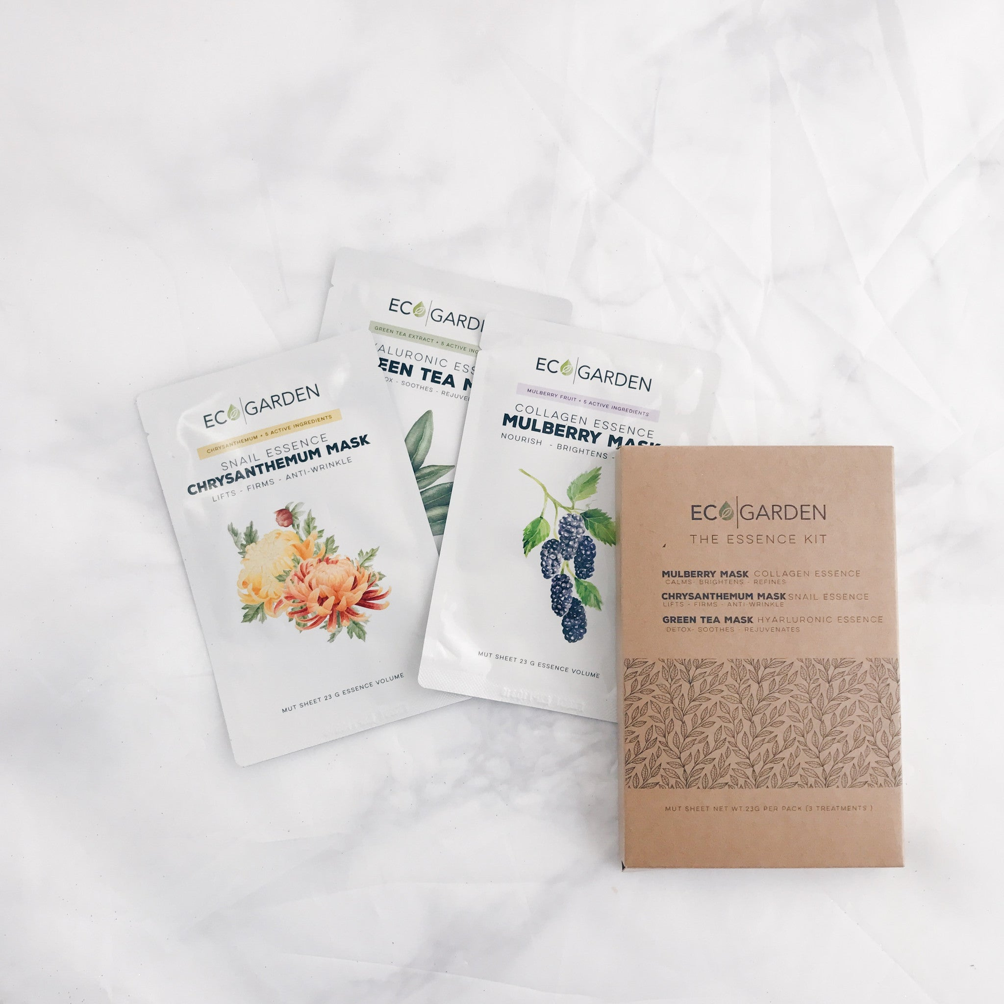 The Essence Sheet Mask Kit