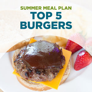 Summer 2021 Meal Plan PDF: TOP 5 BURGER RECIPES