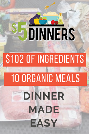 20 Meals for $150 - The All Organic Meals Plan