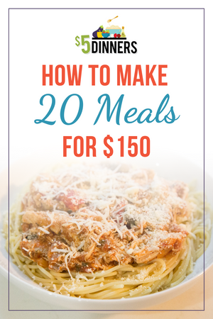 20 Meals for $150 - Slow Cooker Freezer Packs #3