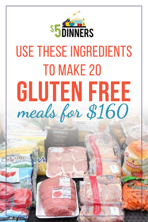 20 Meals for $150 - The Gluten Free Plan #3