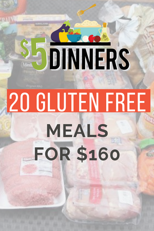 20 meals for $150 the gluten free plan #3
