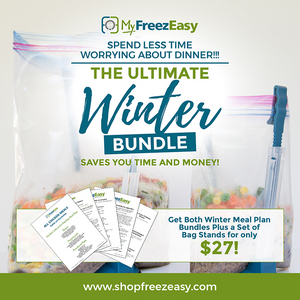 Winter 2020 Freezer Meal Plans - The Ultimate Bundle!