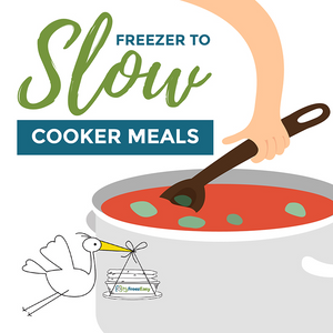 "The ""Freezer to Slow Cooker"" Plan for New Moms {PDF Download}"