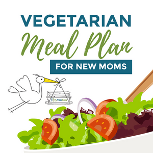 "The ""Veggies Only"" Freezer Meal Plan for New Moms {PDF Download}"