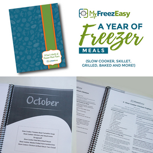 year of freezer meals traditional book