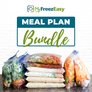 August 2020 - This Month's Freezer Meal Plan Bundle