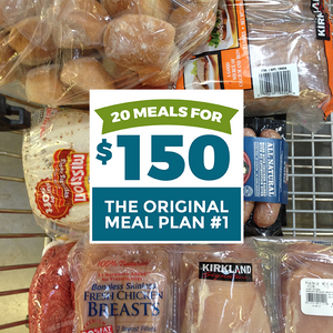 20 meals for $150 the original meal plan #1