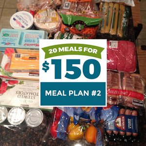 20 Meals for $150 - Meal Plan #2