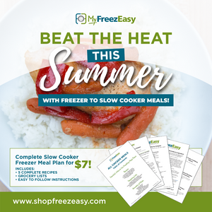 Summer 2020 Slow Cooker Freezer Meal Plan