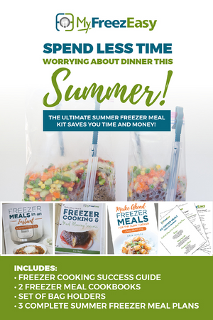 Ultimate Summer 2020 Freezer Meals Kit