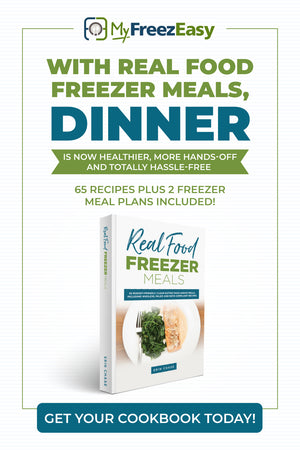 real food freezer meals cookbook erin chase