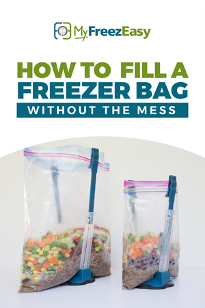 Freezer Meal Bag Stands (Set of 2)