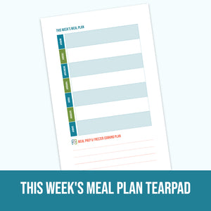 Weekly Meal Plan Tearpad