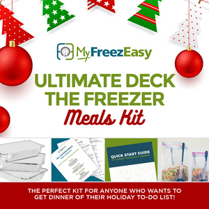 {KETO VERSION} Ultimate Deck the Freezer Meals Kit 2019