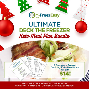 Deck the Freezer Meal Plan Bundle - Keto Meal Plans