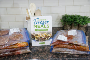 5 ingredient freezer meals cookbook
