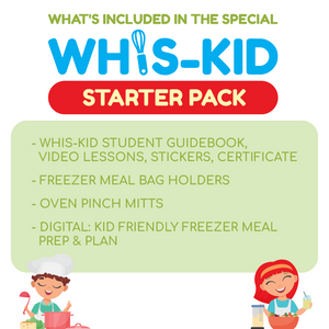 Whis-Kid: STARTER PACK for Cooking Lessons