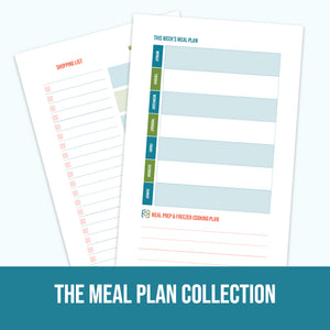 Tearpads: The Meal Plan Collection