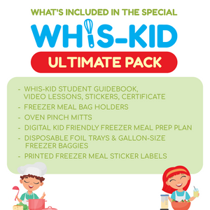 whis-kid kids cooking lessons