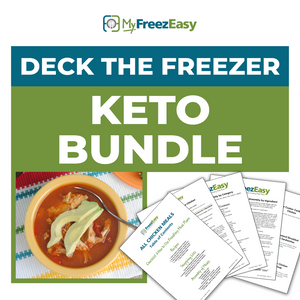 Deck the Freezer KETO PDF Bundle
