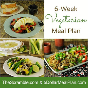6-Week Vegetarian Meal Plan